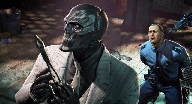 Back Mask en el videojuego Arkham Origins