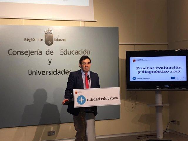 El director general de Calidad Educativa y Formación Profesional, Fernando Mateo