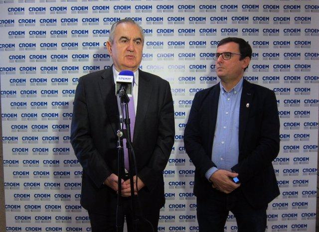 González Tovar y Emilio Ivars en el contacto tras reunión con CROEM