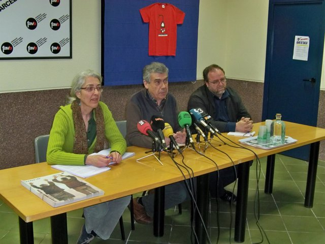 Anna Menéndez, Albert Recio y Àlex Solà