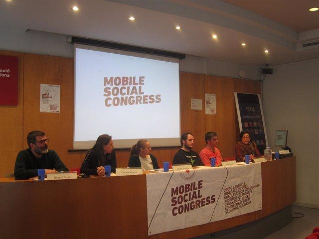 Presentación del II Mobile Social Congress, coincidiendo con el MWC 2017