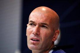 """Zidane: """"Estoy orgulloso de que mis jugadores respeten muchísimo a los árbitros"""""""