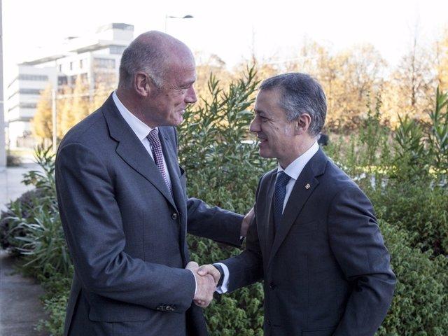 Alain Rousset e Iñigo Urkullu.
