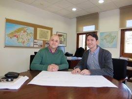 Una rotonda de acceso en Costitx mejorará la seguridad de la carretera Inca-Sineu