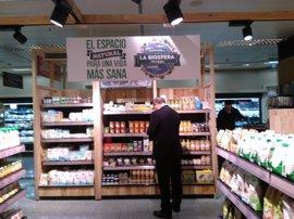 El Corte Inglés abre en Valencia el espacio ecológico La Biosfera que extenderá a otros 19 supermercados
