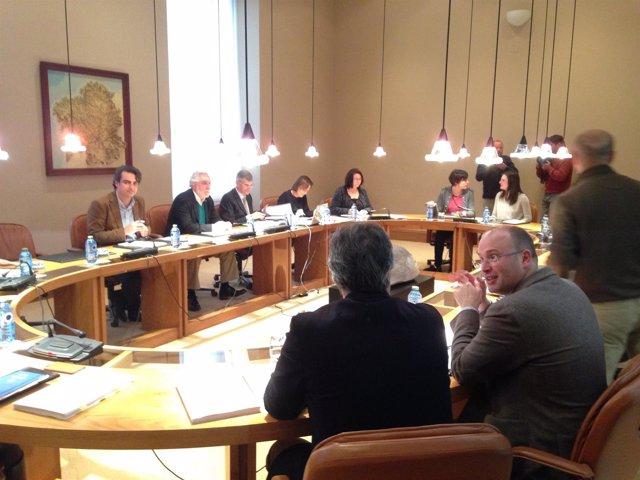 Reunión de la Xunta de Portavoces