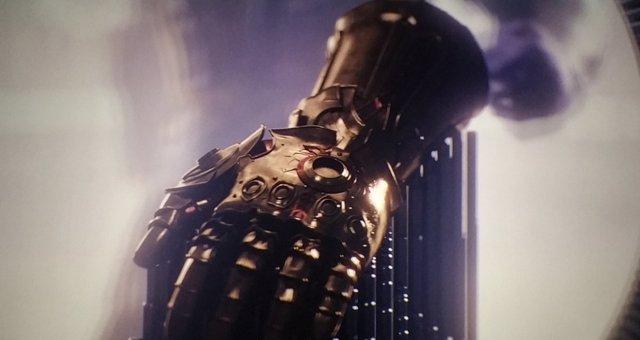 El guantelete del Infinito de Thanos en Vengadores