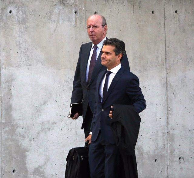 Rafael Spottorno en el juicio por las tarjetas black