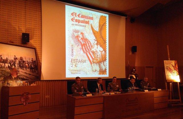 Presentación sello 'Camino Español'