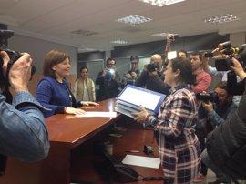 Bonig presenta más de 7.000 avales para revalidar su cargo como presidenta del PPCV