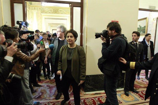 Gloria Elizo en el Congreso