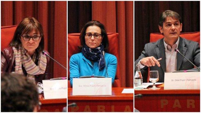 Los hijos de Jordi Pujol Ferrusola Marta, Mireia y Oriol