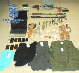 Detenidos los 4 responsables de un punto de venta de heroína situado en las cercanías del castillo de Lorca