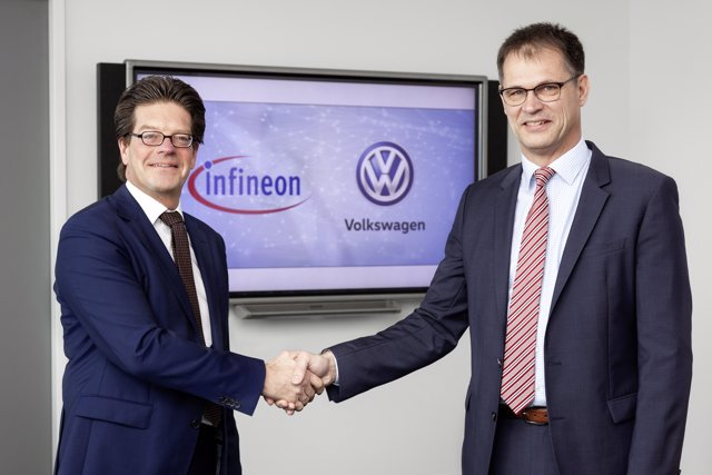Acuerdo entre Volkswagen e Infineon