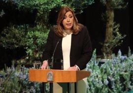 """Susana Díaz: Andalucía """"ahuyentará la tentación de asimetrías y discriminaciones"""" en España"""