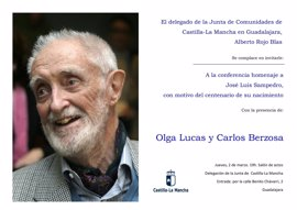 Guadalajara conmemora este jueves el centenario de José Luis Sampedro con una conferencia