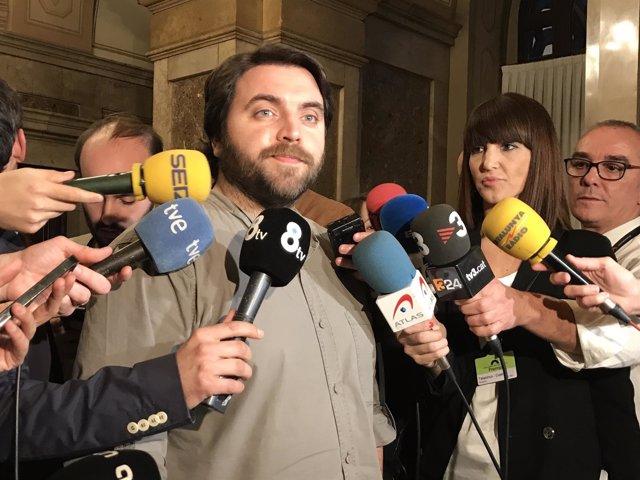 El portavoz adjunto del PSC en el Parlament Ferran Pedret