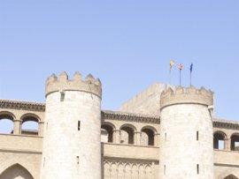 Los diputados de las Cortes de Aragón tendrán que fichar en La Aljafería