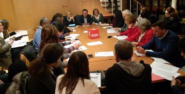 Reunión del PSOE Ley Igualdad de Trato