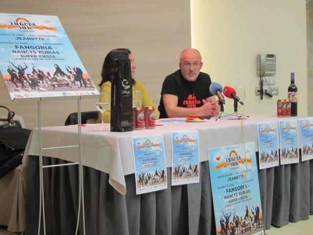 Presentación de III Festival Europa Sur Trujillo