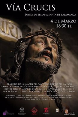Cartel de Via Crucis