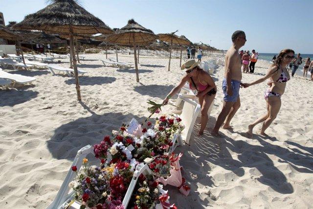 Homenaje a las víctimas del atentado de Susa