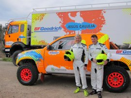 """Jesús Calleja pretende dar """"alguna sorpresa"""" en el Dakar 2018 con un equipo """"de verdad"""""""