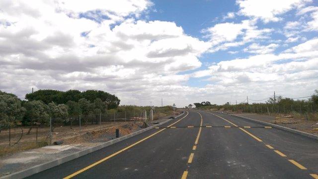 Reforma de la carretera de Punta del Moral en Huelva