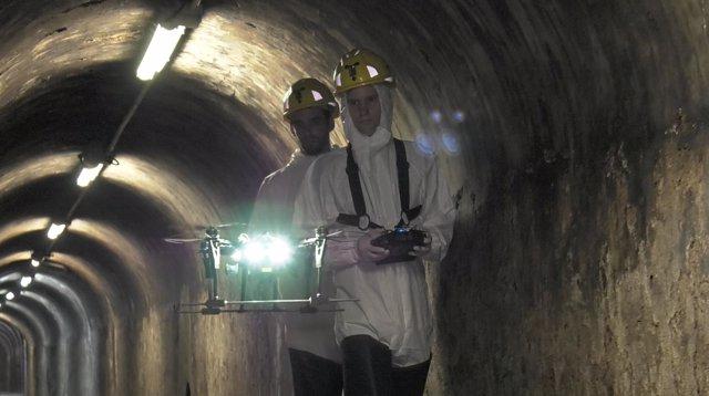 Drones inspeccionarán redes de alcantarillado en Barcelona