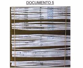 La Guardia Civil vincula un papel de la trituradora de Andreu Viloca con una adjudicación