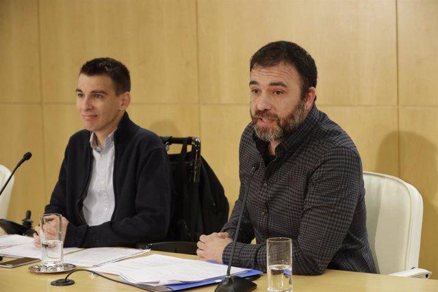 Pablo Soto y Nacho Murgui