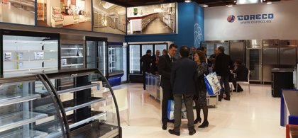 Coreco muestra los nuevos muebles refrigerados en el Salón Internacional de Climatización y Refrigeración de IFEMA