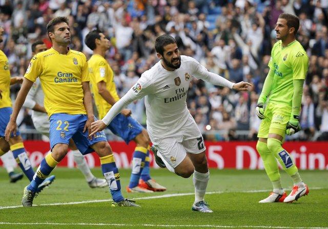 Real Madrid Isco Las Palmas Javi Varas