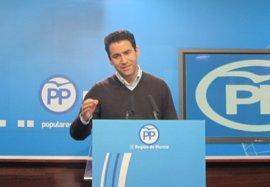 """El PP pide a Ciudadanos apartarse de la estrategia judicial """"ruin"""" del PSOE contra el presidente de Murcia"""
