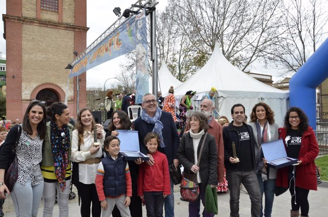 La ONGD Tetoca Actuar recibe el segundo galardón de Premios Macarena 2017