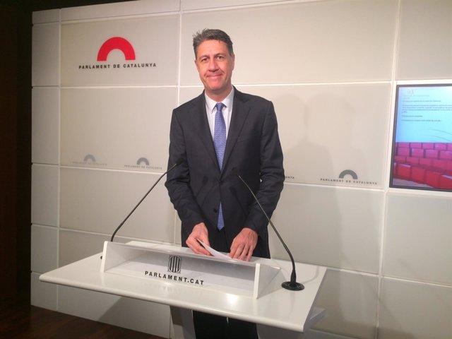 El coordinador general del PP en Catalunya, Xavier García Albiol.
