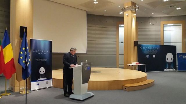 Tajani en el Parlamento Europeo