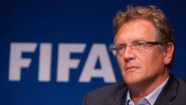 Valcke recurre al TAD su suspensión de diez años por parte de la FIFA