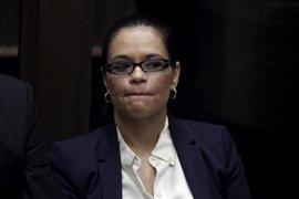 La exvicepresidenta de Guatemala Roxana Baldetti, a juicio por tratar de defraudar al Estado