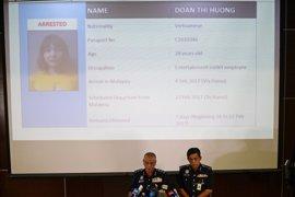 Malasia presenta cargos por asesinato contra las dos mujeres implicadas en el asesinato de Kim Jong Nam