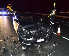 Detenido un conductor que casi quintuplicaba la tasa de alcoholemia