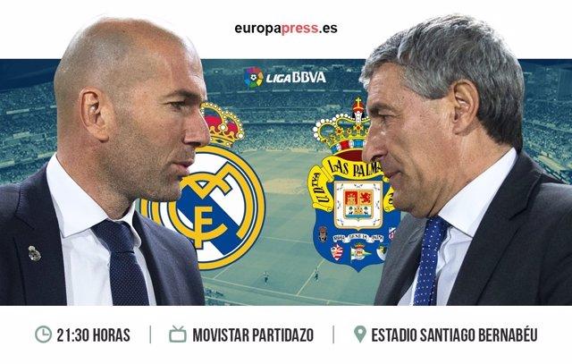 Horario y dónde ver el Real Madrid – Las Palmas | Liga Santander