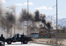 Ascienden a 16 muertos y 59 heridos las víctimas del doble atentado perpetrado por los talibán en Kabul