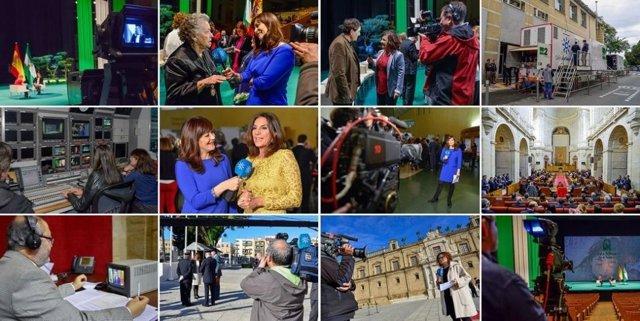 Imágenes de CSTV en el 28F