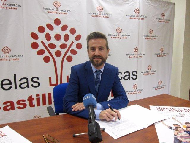 Leandro Roldán, secretario autonómico de ECCyL.