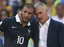 "Deschamps: ""Si creo que es bueno para Francia, llamaré a Benzema"""