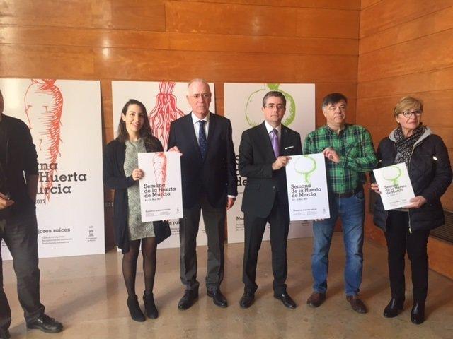 Navarro presenta la II Semana de la Huerta de Murcia
