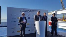 Gas Natural Fenosa y Baleària inauguran en Barcelona el primer motor de GNL para barcos de viajeros en España