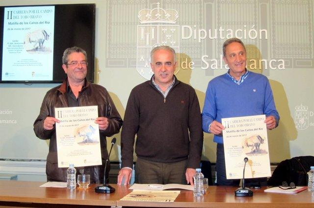Ciriaco Tardáguila, Jesús María Ortiz y Moisés Muñoz.
