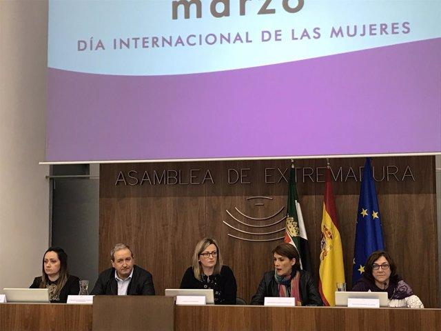 Presentación cartel Día Internacional de las Mujeres